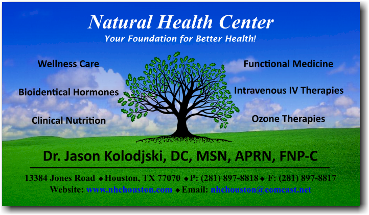 Natural Health Center Home Page